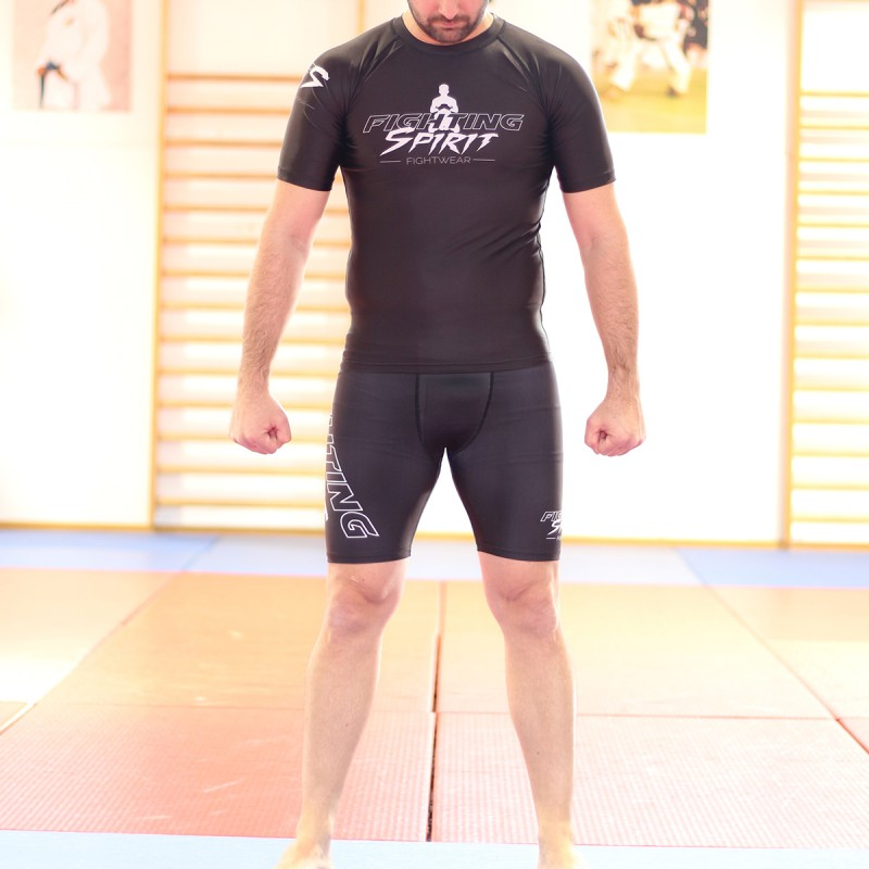 Short de compression homme FIGHTING SPIRIT.