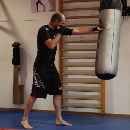 Rashguard manches courtes homme FIGHTING SPIRIT, classique.