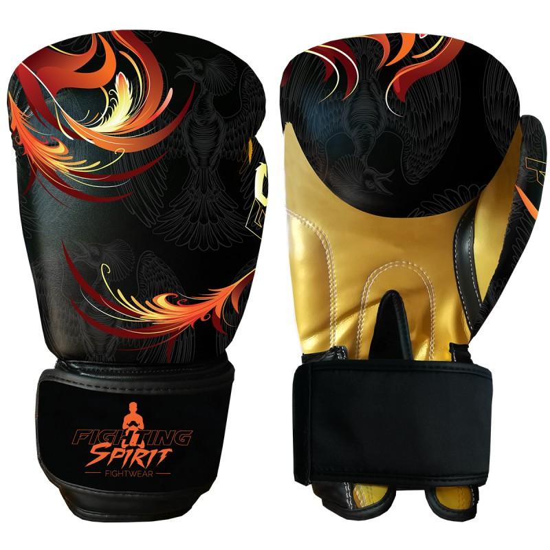 Gants de boxe personnalisables FIGHTING SPIRIT feu.