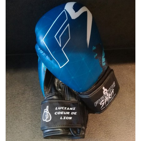 Gants de boxe personnalisables FIGHTING SPIRIT eau.
