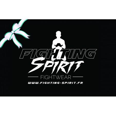 La carte cadeau FIGHTING SPIRIT, c'est le cadeau idéal, qui plaira à coup sûr.