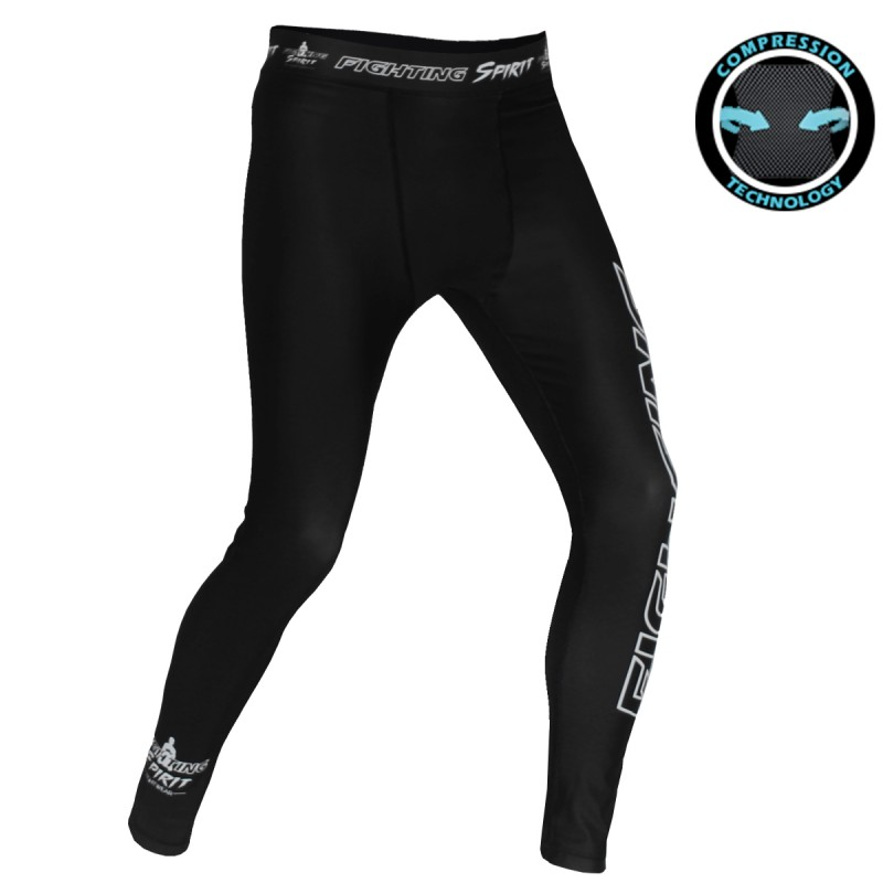Pantalon de compression homme FIGHTING SPIRIT classique.