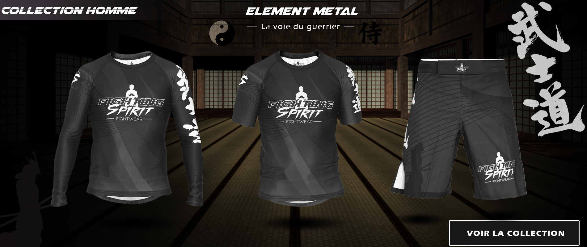 ELEMENT métal Homme - FIGHTING SPIRIT